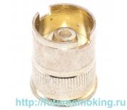 510 Коннектор аккумулятора серебряный без воздуховода