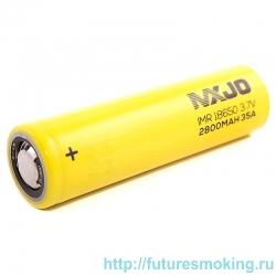 Аккумулятор MXJO 18650 2800 mAh 35А незащищенный (плоский) LI-MN ВысокоАмперный
