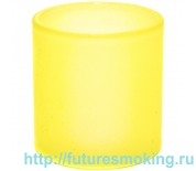 Бак Стекло 24,5*25,5 мм для iJust S Желтый (меняет цвет от температуры) Eleaf