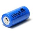Аккумулятор 16340 (CR123A) 880 mAh Ultrafire 3.7V незащищенный
