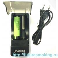 Зарядное устройство для 18350 и 18650 аккумуляторов (iSmoka)