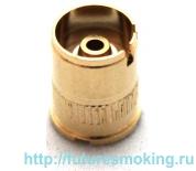 510 Коннектор аккумулятора золотой с воздуховодом