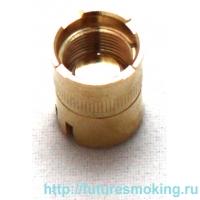 510 Коннектор аккумулятора золотой без воздуховода
