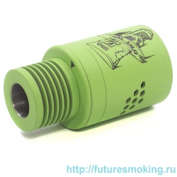 Дрипка Mad Hatter V2 RDA Зеленый (Расходники)(Обслуживаемый Атомайзер)
