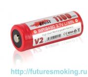 Аккумулятор 18490 1100 mAh Efest IMR 3.7V незащищенный