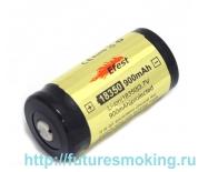 Аккумулятор 18350 900mAh Efest 3.7V с защитой Flat Top