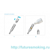 Набор eGo-CC 1000 mAh стальной Смарт Upgrade JoyeTech