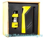 Набор Elite PS2170 100W Жёлтый 1*21700 + Клиромайзер Captain Mini 3.2 мл Ijoy