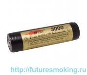 Аккумулятор 18650 3000 mAh Efest 3.7V с защитой