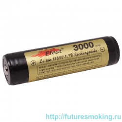 Аккумулятор 18650 3000 mAh Efest 3.7V