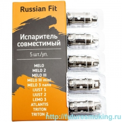 Испаритель Russian Fit EC 0.5 Ом 30-100W