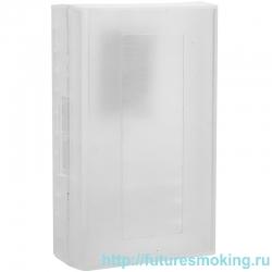 Кейс для хранения 2-х аккумуляторов 20700/21700 белый