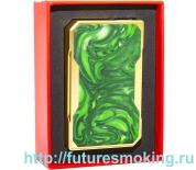 Мод Drag 157W TC Золотой Зеленый VooPoo