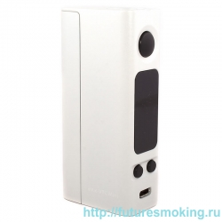 Мод eVic VTC Mini 75W Simple Белый (БЕЗ клиромайзера!! Батарейный мод JoyeTech)