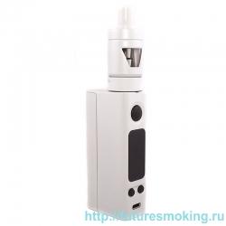Набор eVic VTC Mini 75W Белый + Клиромайзер TRON-S (Батарейный мод JoyeTech)