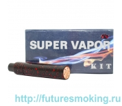 Набор МехМод SMPL+Velocity Mini Kit Черно-Красный 18650 (Клон)