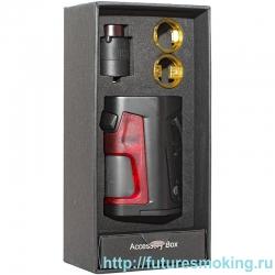 Набор Pulse Dual 18650 Hit + Дрипка Pulse v2 RDA Черно- красный Vandy Vape