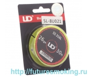 Проволока Нержавейка UD SS316 d=0.4мм L=9.1м