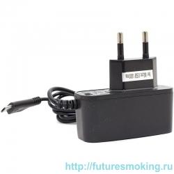 Сетевой адаптер 220V -> Activ 1000 mA + кабель microUSB черный