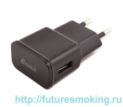 Сетевой адаптер 220V -> USB 2000 mAh черный Brera