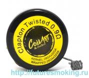 Спираль Coil Art Clapton Twisted 0.9 Ом (28GA*32GA/28GA*32GA) Coil Art