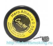 Спираль Coil Art Hero Aliance 0.55 Ом (28GA+32GA A1/26GA+0.1*0.9)