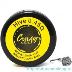 Спираль Coil Art Hive 0.45 Ом (30GA A1*2/30GA A1*2)