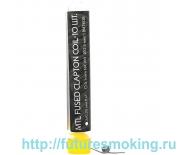 Спираль Hot Coils 10 шт MTL Fused Clapton Coil *Ka1 0.78/0.39 Ом/пара (2*0.25)