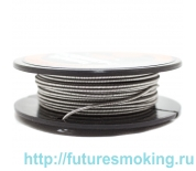 Спираль Hot Coils 4.5метра Fused Clapton Wire Kantal A1 0.2*(2*0.3)