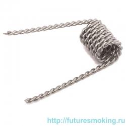 Спираль Кантал-A1 0.5 Ом (2.8 мм*26GA*2) (косичка две проволоки) Rebuildable Форсунки