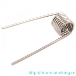 Спираль Нихром-0.1 0.5 Ом (2.8 мм*24GA) Rebuildable Форсунки