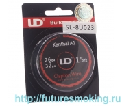 Спираль UD Кантал-A1 Clapton Wire 0.4+0.2мм 4.6м