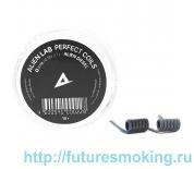 Спирали Alien Lab 2 шт Alien Diesel Coils 0.13 Ом К0.5*2+NiCr0.12