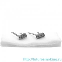 Спирали New Coils для Мехов Triple Staggered 0.07 Ом 5 витков 2 шт #167 Super Coils