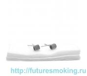Спирали New Coils для Плат Fused Clapton 0.16 Ом 3 мм 6 витков 2 шт #142 Super Coils