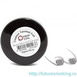 Спирали Prof Coil Clapton Twisted Coil 2 шт