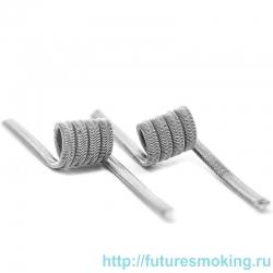 Спирали V-Coil 2 шт Alien Micro Coil для MTL баков 0.36 Ом (3*0.3)*0.1