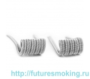 Спирали V-Coil 2 шт Staggered Fused Coil SS316L 0.08 Ом (2*0.5)*0.15