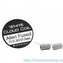 Спирали White Cloud Coil для Плат Alien Fused 0.30 Ом 2 шт