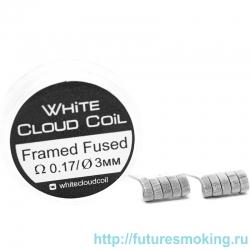 Спирали White Cloud Coil для Плат Framed Fused 0.17 Ом 2 шт