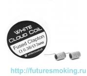 Спирали White Cloud Coil для Плат Fused Clapton 0.38 Ом 2 шт