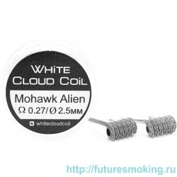 Спирали White Cloud Coil для Плат Mohawk Alien 0.27 Ом 2 шт