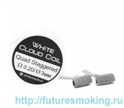 Спирали White Cloud Coil для Плат Quad Staggered 0.20 Ом 2 шт