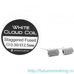 Спирали White Cloud Coil для Плат Staggered Fused 0.30 Ом 2 шт