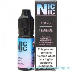 Усилитель крепости Nic Nic 10 мл 18 мг/мл