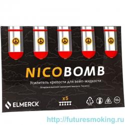Усилитель крепости Nicobomb 1 мл 183мг/мл 5 шт ElMerck