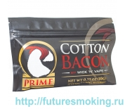 Вата Cotton Bacon Prime 10 полосок 10 гр WickNVape