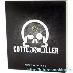 Вата Cottons Killer Льняная с вискозой 6*8 см 5 шт