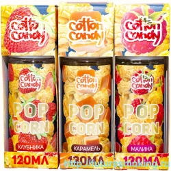Жидкость Cotton Candy 120 мл Popcorn 0 мг/мл