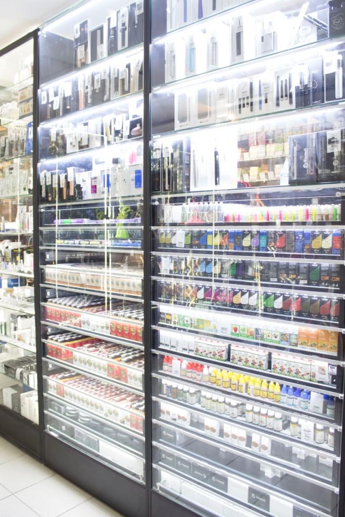 Магазин Электронных сигарет в Новосибирске ул. Галущака, 2, цоколь витрина 3